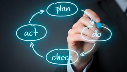 販売計画から製造指示まで、生産管理効率化のためのPDCAサイクルを確立