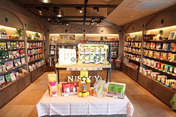 自社ブランド「にしきや」は、東京・宮城に計4店舗を展開。直営店ならではの豊富な品揃え