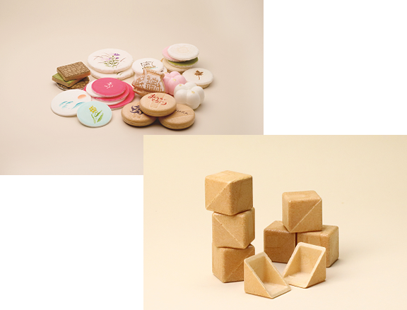 菓子種製品