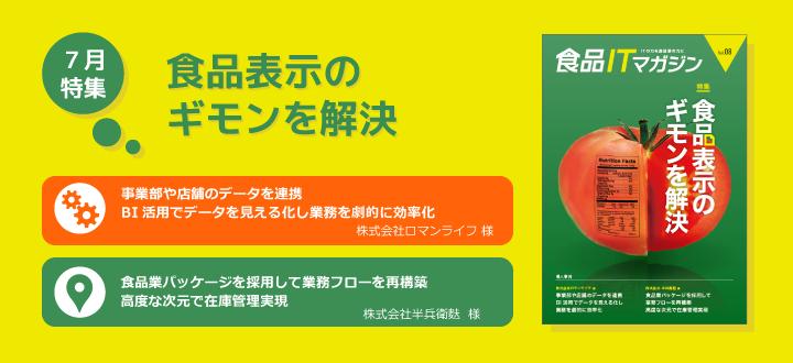 Vol.8 食品表示のギモンを解決